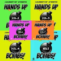 VA - Pulsedriver Presents Hands Up Bombs Vol 2-7 (2012-2015) MP3